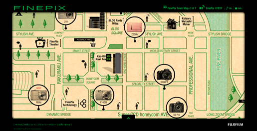 FinePix TownMap